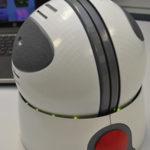 The novel trackball controller nicknamed 'Orby'.