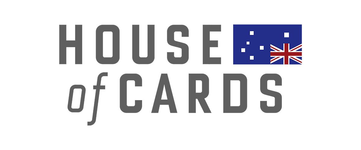 house of cards background Australian economy